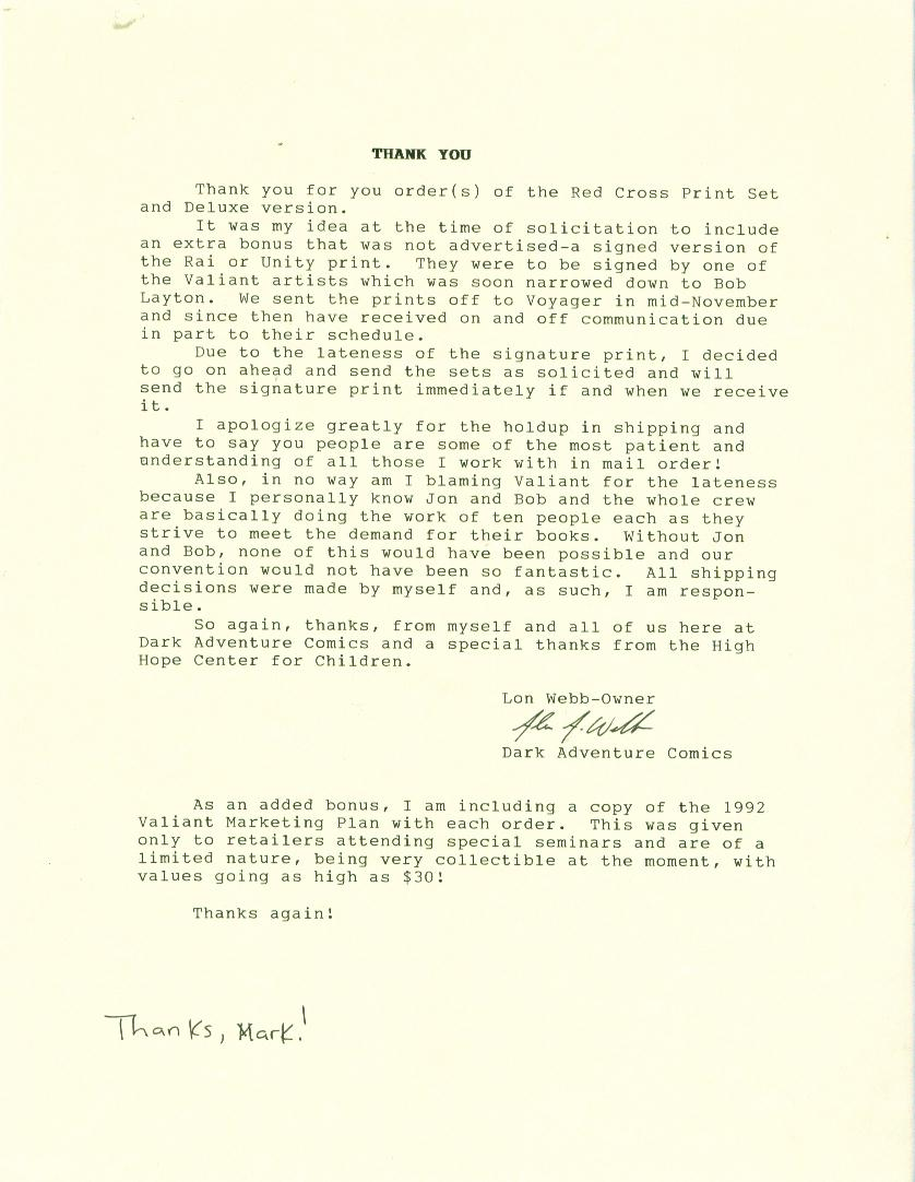 valiant archive red cross promotion letter 2